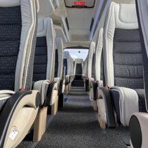 Minibus transfer unutrasnjost